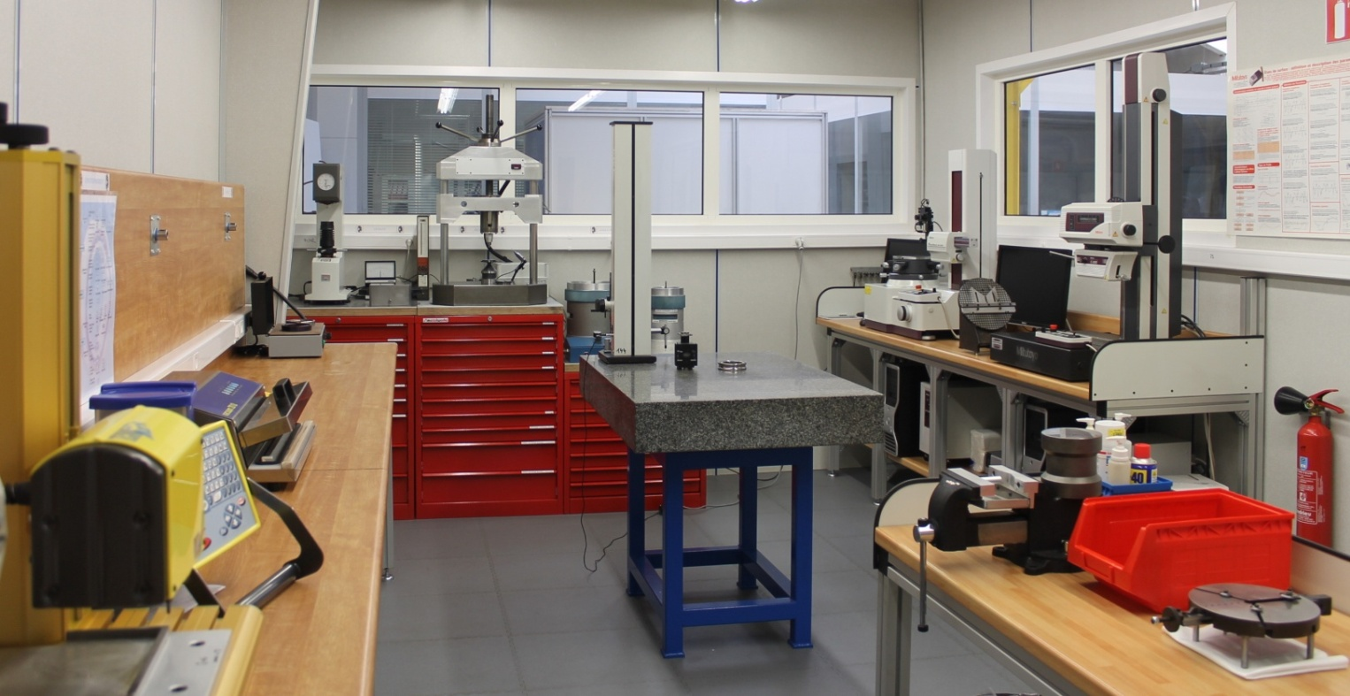 Société mécanique de la Gohelle - Nos Moyens - Laboratoire roulements