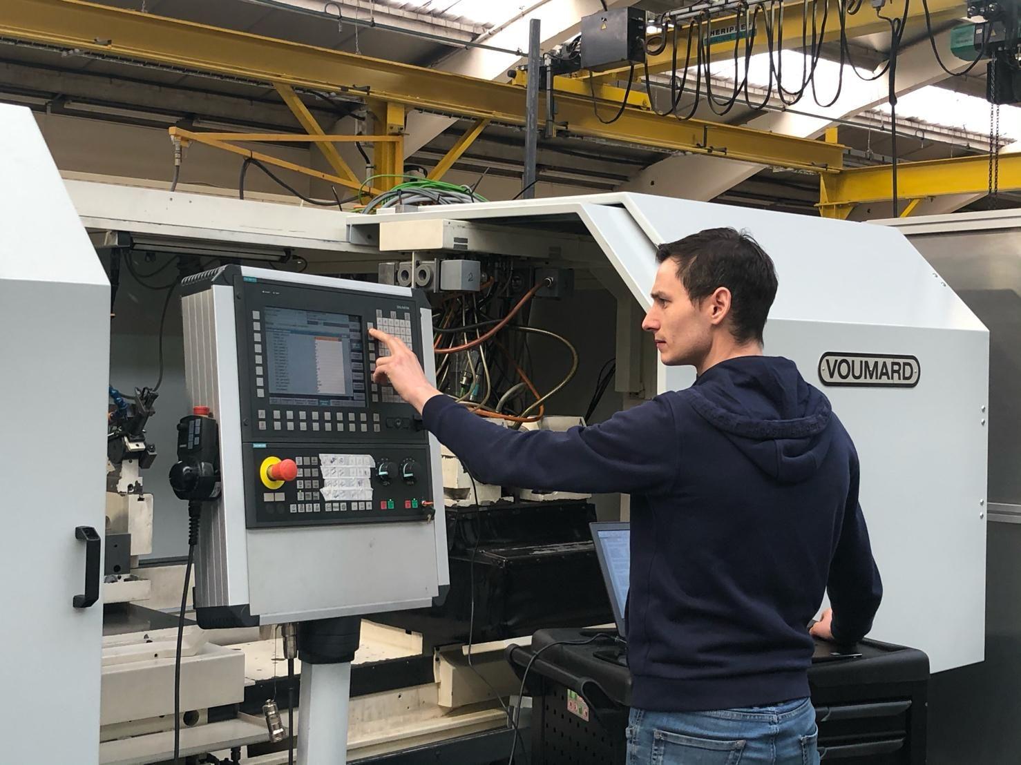 Société Mécanique de la Gohelle - Réparation Machine-outil Voumard